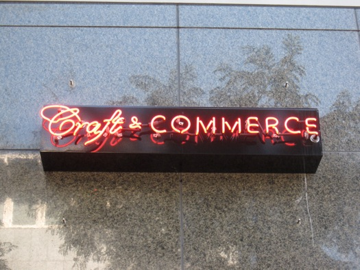 Craft-Commerce-Sign