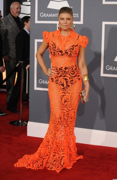 FERGIE-GRAMMYS-2012-RED-CARPET-DRESS